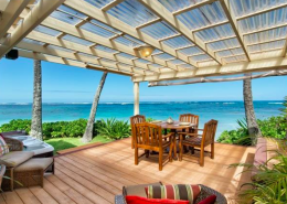 Mokuleia beach house for sale (North Shore Oahu)