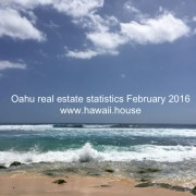 Oahu House statistics Feb 2016
