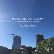 Oahu June Statistics 2016