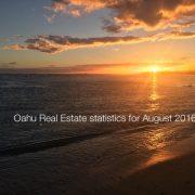 Oahu housing prices August 2016