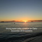 Strong December 2016 Housing sales Hawaii House