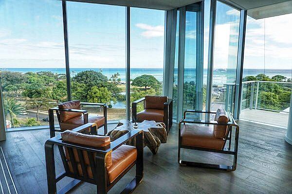 Waiea resident dining room Hawaii House