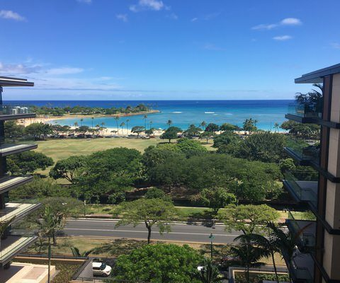 Park Lane condos Honolulu ocean views - Hawaii House