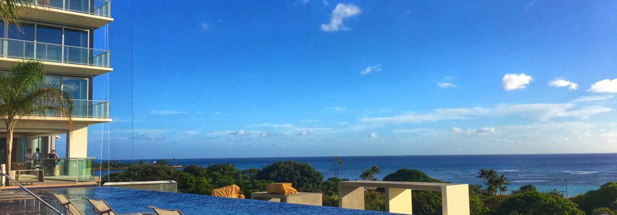 Waiea condo pool area - Hawaii House