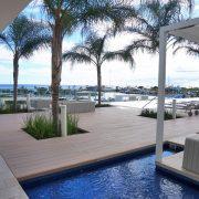 Waiea pool deck cabanas