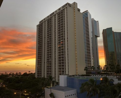 A new median sales price record for Oahu condos in January 2018 - photo of 1350 Ala Moana, Honolulu