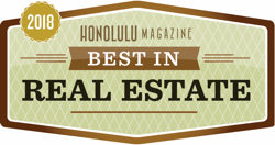 2018 - Hawaii House is best in Hawaii real estate from Honolulu magazine