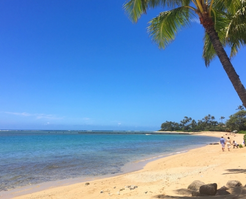 Kahala Beach, Honolulu