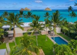 Luxury Lanikai beach oceanfront estate for sale